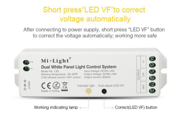 MI-LIGHT LED PANEEL 4 ZONE CONTROLLER-4414