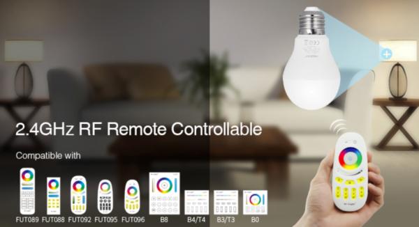 LED LAMP E27 6W RGB+CCT-4710