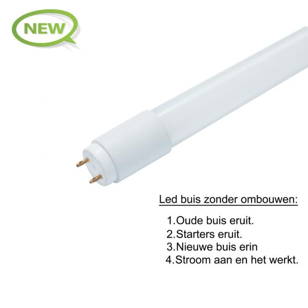 LED TL-BUIS GLAS 120CM 18W-4589