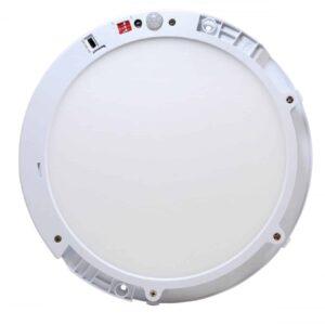 LED IN- EN OPBOUW DOWNLIGHT MET BEWEGINGS- EN LICHTSENSOR Ø220MM-5371