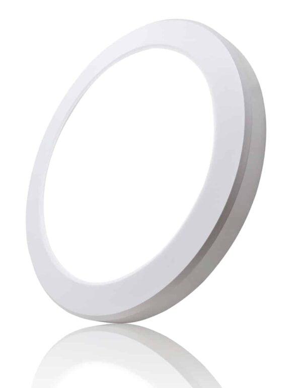 LED IN- EN OPBOUW DOWNLIGHT DIMBAAR + CCT Ø220MM-6105