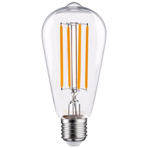 LED FILAMENT E27 EDISON DIMBAAR 6.5W-0