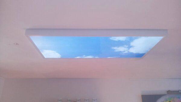 FOTOPRINT afbeelding wolk verdeeld over 4 panelen 595 x 595 mm-2092