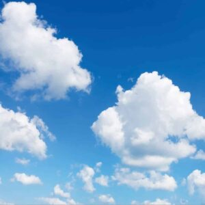 FOTOPRINT afbeelding wolk verdeeld over 1 panelen 595 x 595 mm-0