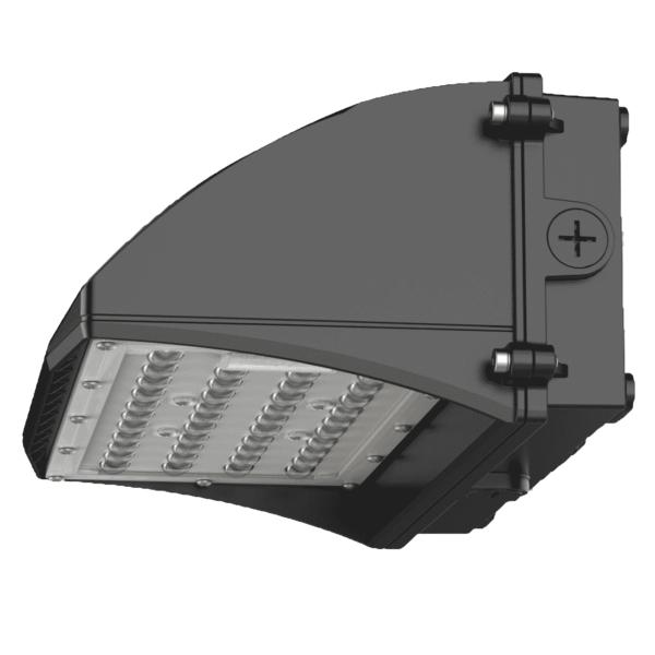 LED WALL PACK 30W 130°x 60°-5980